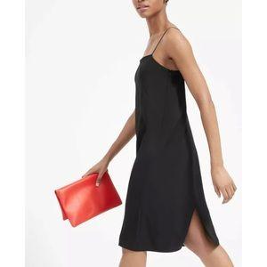 Everlane Black Japanese GoWeave Cami Slip Dress